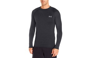 under armour men's base layer crew top