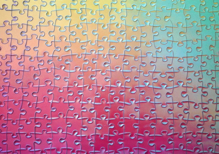 1000 Color Changing Puzzle