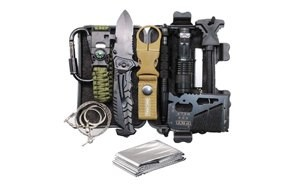 11-in-1 survival gear kits, edc emergency tools and everyday carry gear