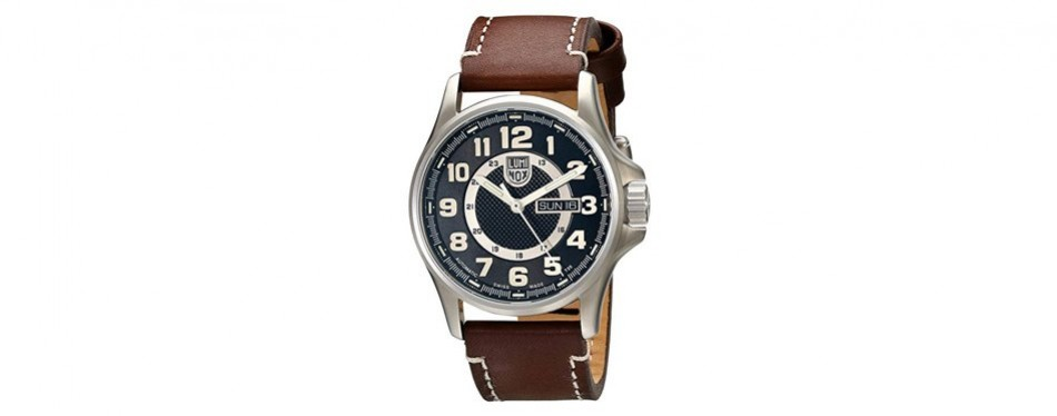 1801 stainless steel watch