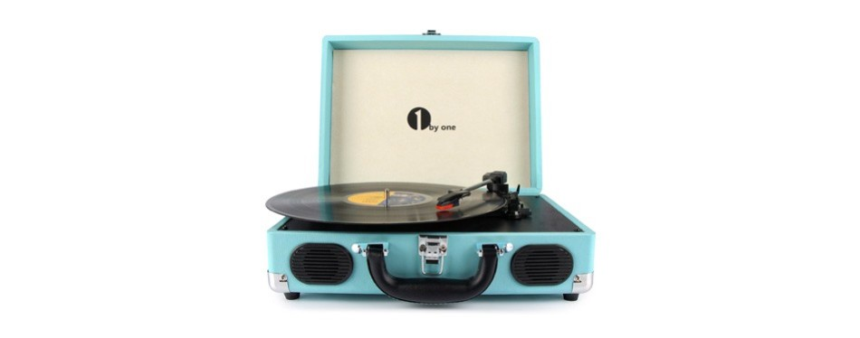 1byone portable turntable
