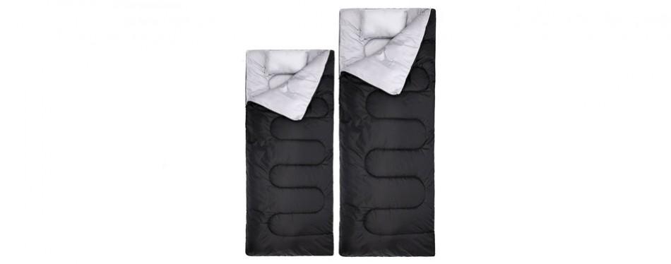 2 Ohuhu Double Sleeping Bag