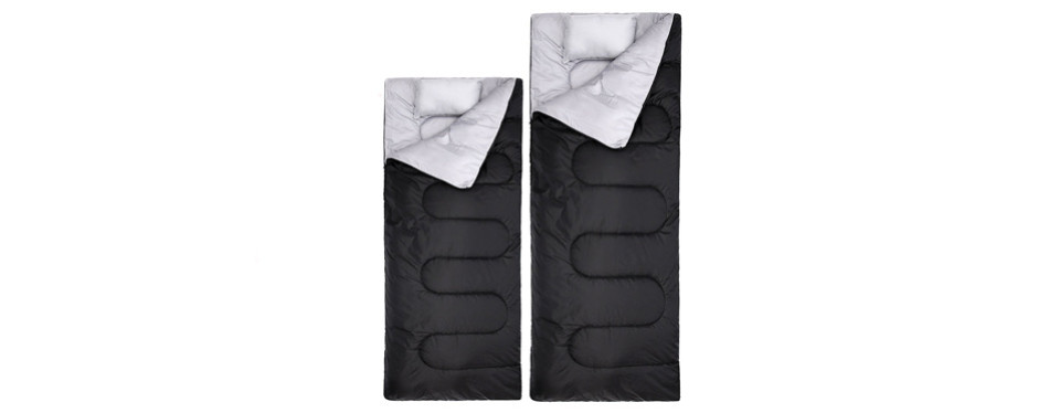 2 Ohuhu Double Sleeping Bag