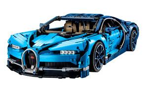 Bugatti Chiron Race Lego Car