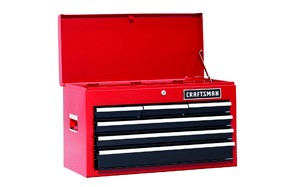 Craftsman Six-Drawer Steel Tool Chest