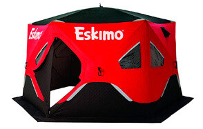 Eskimo Seven-Person Pop-Up Portable Ice Fishing Shelter