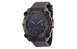Hamilton Men's Khaki Navy BelowZero Black Dial Watch