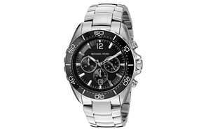 Michael Kors Men's Winward Silver-Tone Watch