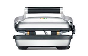breville silver panini press