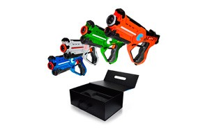 Family Laser Tag Set Night 4 Pack