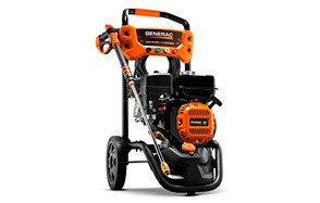 generac 6923 gas powered pressure washer