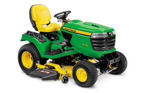 john deere x710 signature riding lawn mower