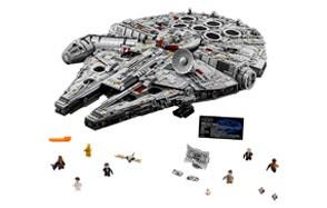 lego ultimate millenium falcon building kit