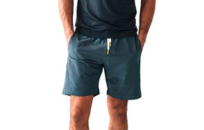 olivers apparel water repellent men's yoga shorts