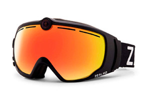 Zeal Optics HD Camera Ski Goggles