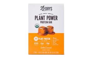 22 Days Plant Power Protein Bar