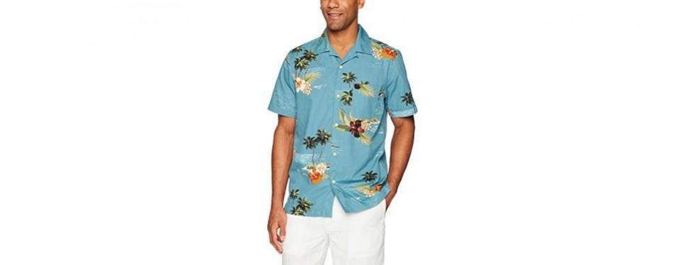 28 palms tropical hawaiian shirt