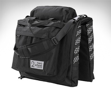 2 Wheel Gear Garment Pannier