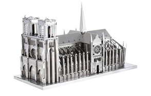 11. Fascinations ICONX Notre Dame Cathedral 3D Metal Model Kit