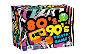 Outset Media 80's and 90's Trivia Board Game