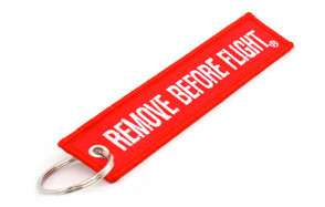Rotary13B1 Remove Before Flight Key Chain