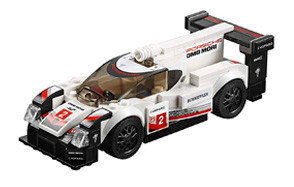 Speed Champions Porsche 919 Hybrid Lego Car