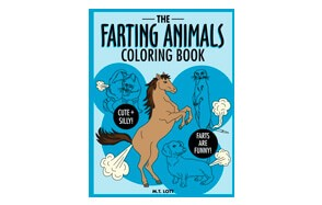 The Farting Animals Colouring Book