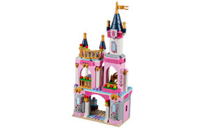 disney princess sleeping beauty's lego castle set