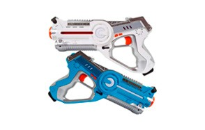 Dynasty Toys Laser Tag Set And Carrying Case 2 Pack