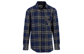 Gioberti Men's Long Sleeve Flannel Shirt