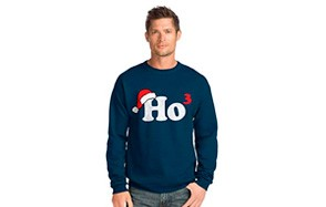 hanes men's ugly christmas jumper