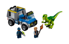 Juniors Raptor Rescue Truck