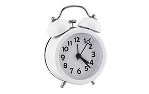 pilife mini non-ticking vintage classic kids alarm clock