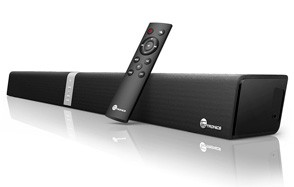 taotronics soundbar wired wireless bluetooth audio speaker