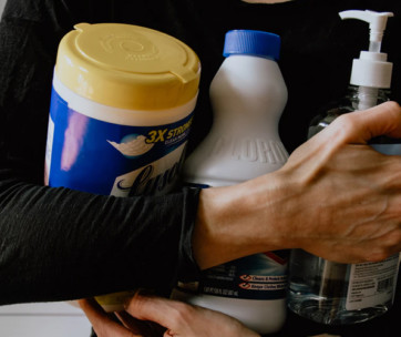 3 tips to disinfect your home with bleach