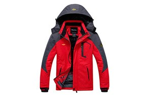 wantdo mountain waterproof ski jacket