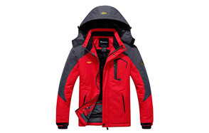 wantdo mountain waterproof ski jacket
