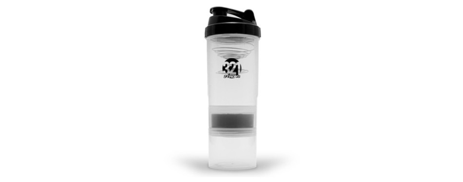 321 STRONG Stackable Shaker Bottle