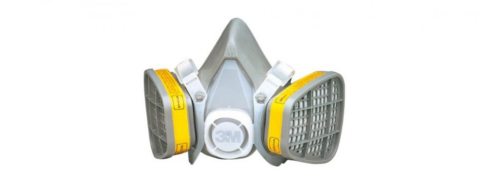 3m safety 142-5303 half facepiece respirator