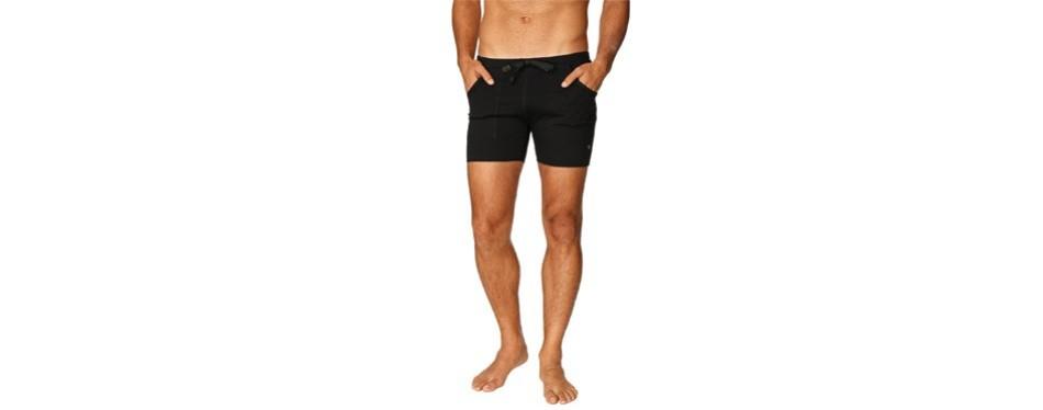 4-rth transition men's yoga shorts