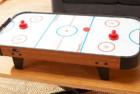 40 inch table top air hockey set