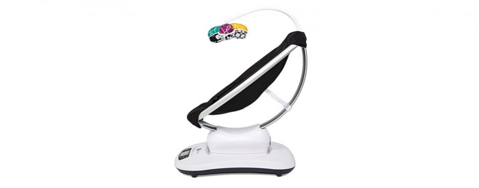 4moms mamaroo 4 bluetooth-enabled high-tech baby swing