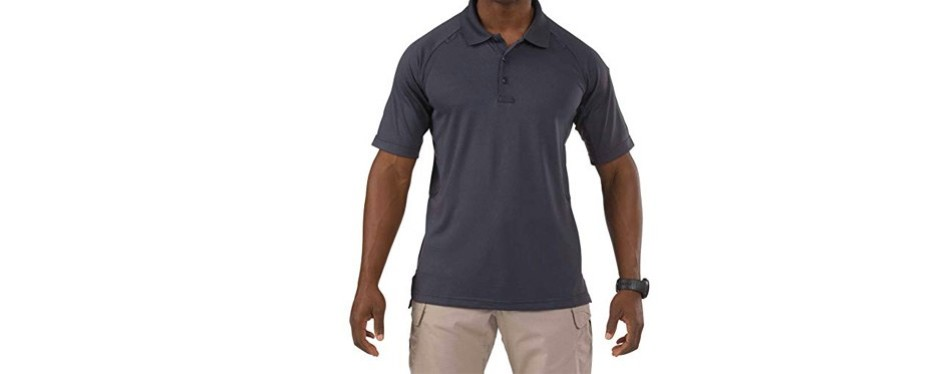 5.11 men's performance short sleeve polo tactical shirt