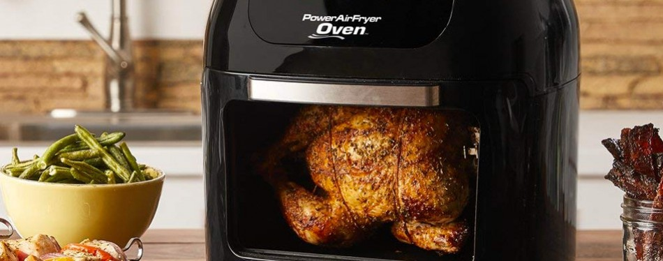 6 QT Power Air Fryer Oven With 7 in 1 Cooking Features