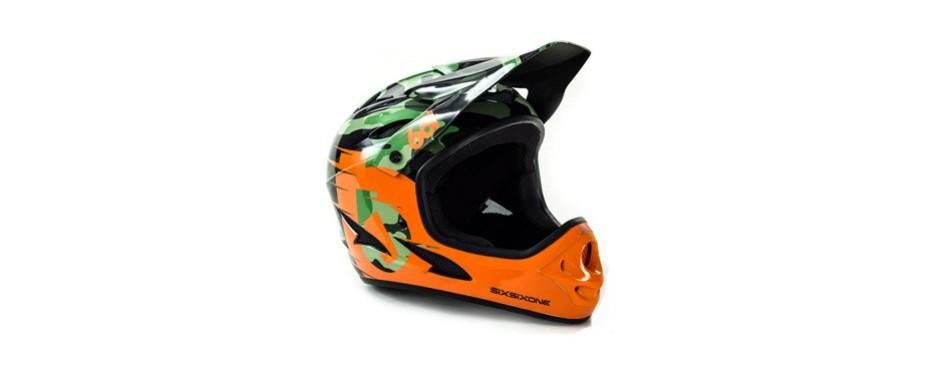661 sixsixone comp full face gravity mtb dh helmet