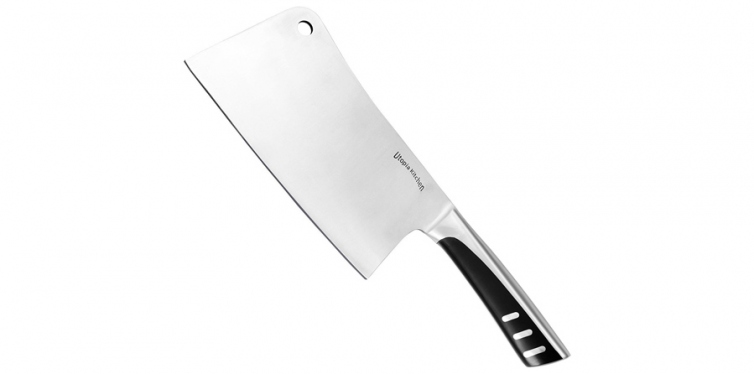 Utopia Kitchen 100% Stainless Steel Cleaver
