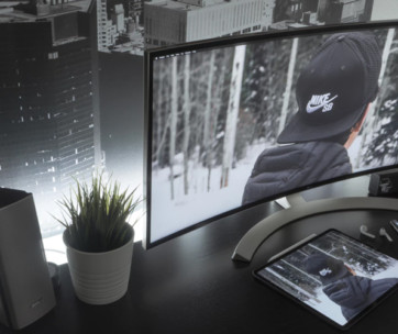 8 best curved monitors review in 2019