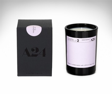 A24 & Joya Movie Genre Candle