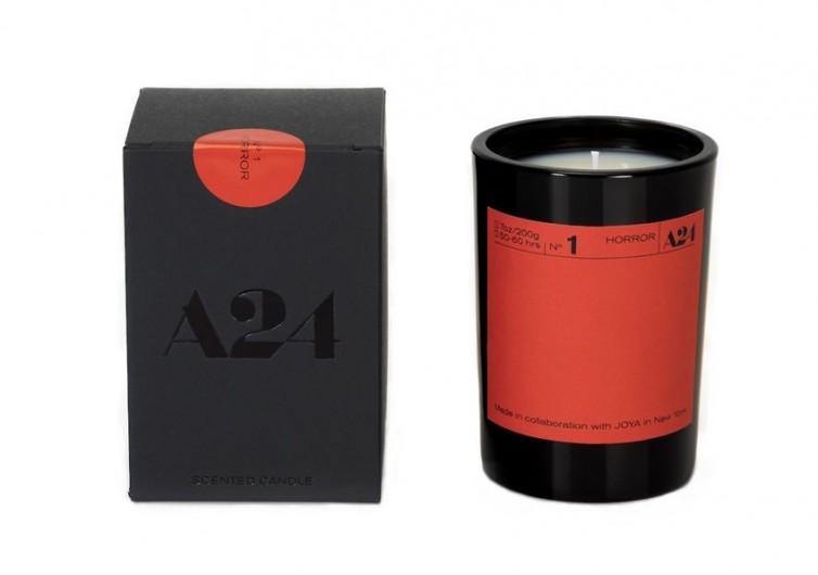A24 & Joya Movie Genre Candle
