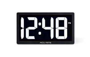 AcuRite 10-inch LED Digital Desk Clock